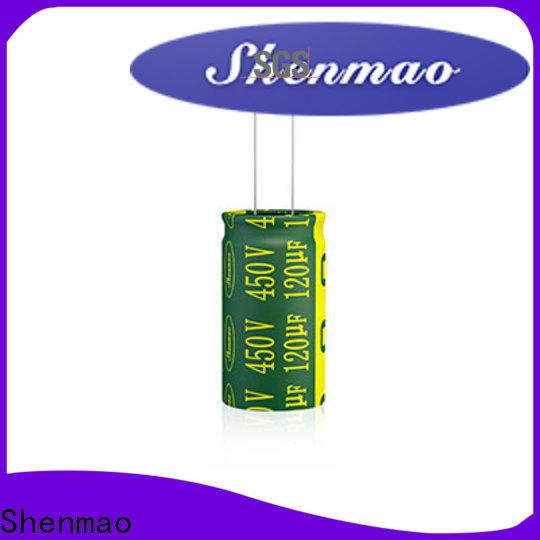 Shenmao high quality electrolytic capacitors overseas market for energy storage