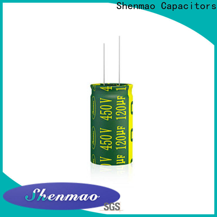 Shenmao quality-reliable high quality electrolytic capacitors supplier for DC blocking