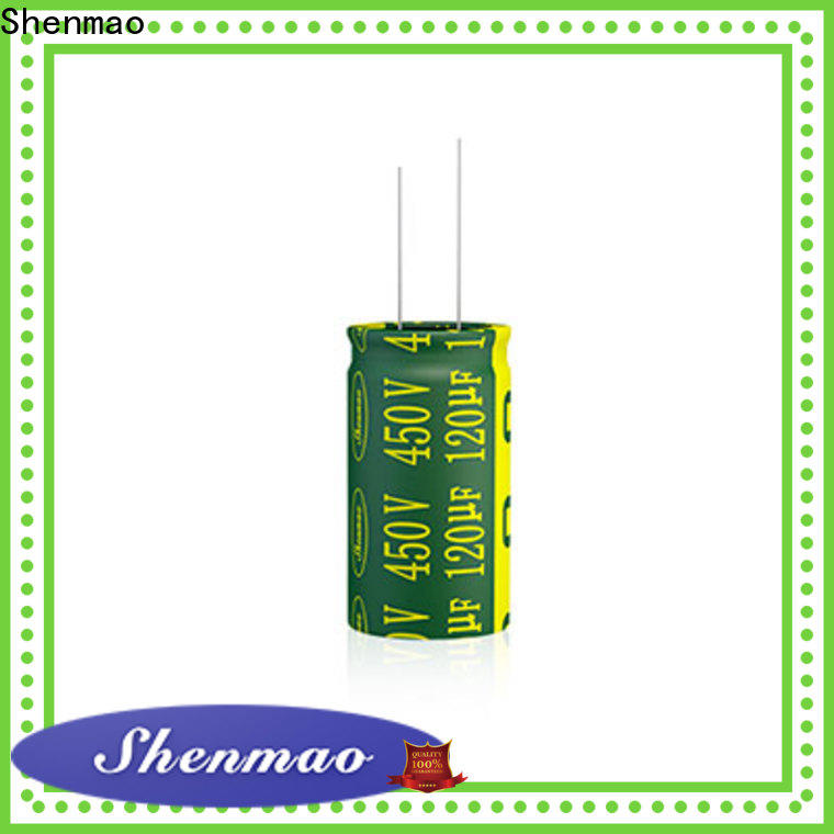 Shenmao 600 volt electrolytic capacitor overseas market for timing