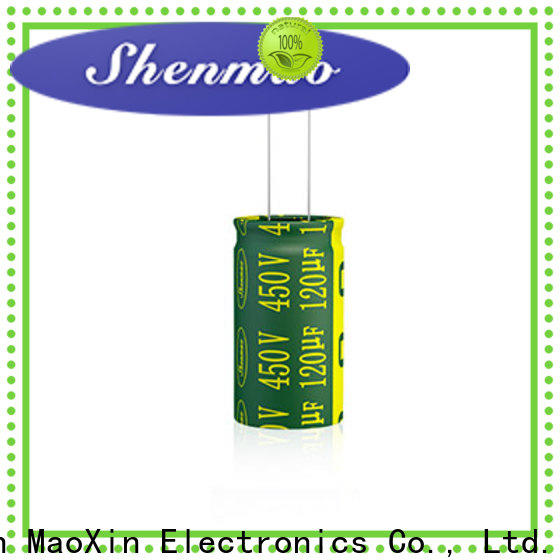 Shenmao price-favorable Radial Aluminum Electrolytic Capacitor vendor for coupling