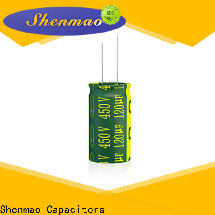 Shenmao what is electrolytic capacitor vendor for DC blocking