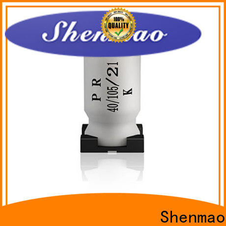 Shenmao panasonic smd aluminum electrolytic capacitors owner for timing