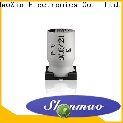 Shenmao energy-saving smd aluminium capacitor vendor for timing