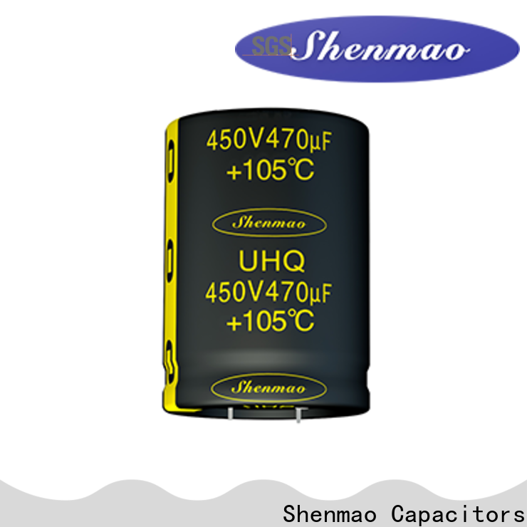 Shenmao quality-reliable high voltage electrolytic capacitors supplier for coupling
