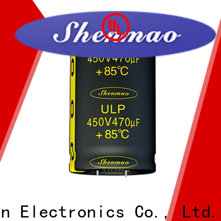 Shenmao fine quality snap in electrolytic capacitors supplier for tuning