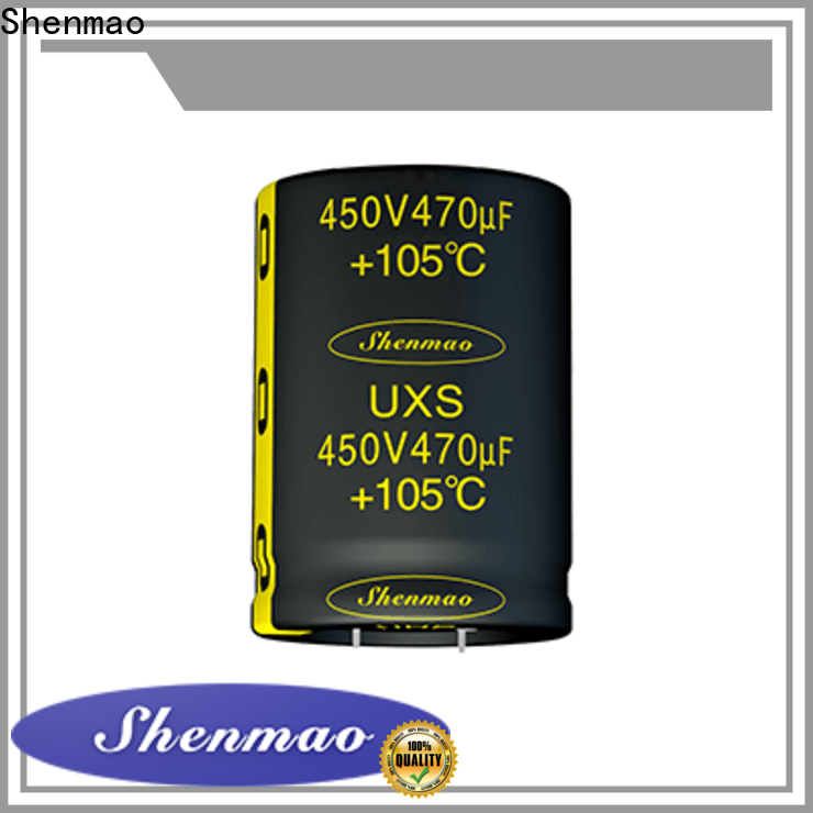 Shenmao fine quality electrolytic capacitor price owner for rectification