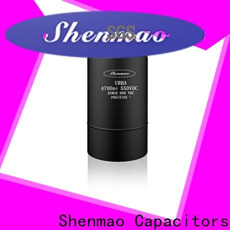 Shenmao screw terminal capacitor bulk production for filter