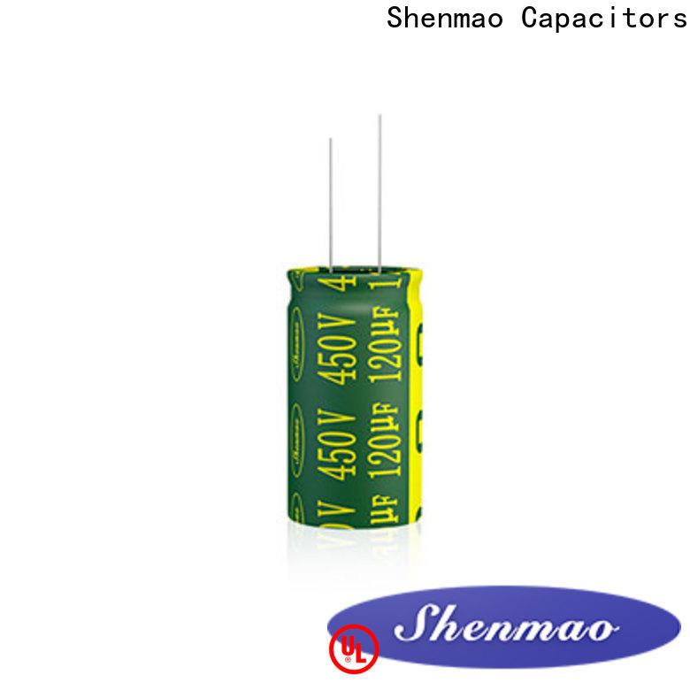 Shenmao electrolytic capacitor 100uf vendor for temperature compensation