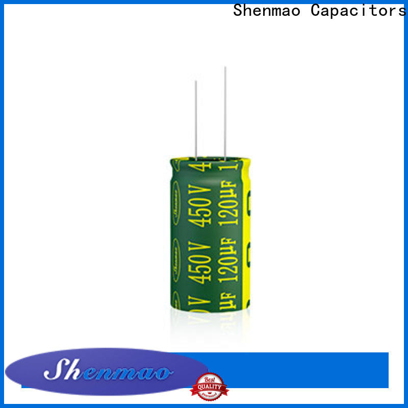 Shenmao price-favorable 47uf electrolytic capacitor marketing for tuning