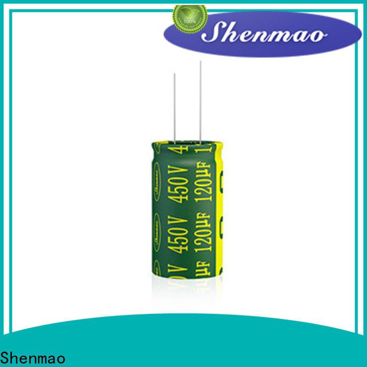 Shenmao electrolytic capacitor polarity marketing for temperature compensation