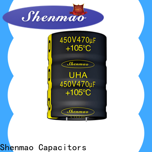 Shenmao electrolytic capacitors in series bulk production for rectification