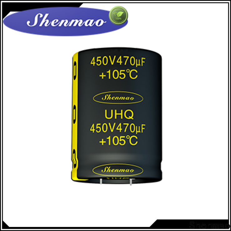 Shenmao Snap-in Aluminum Electrolytic Capacitor marketing for coupling
