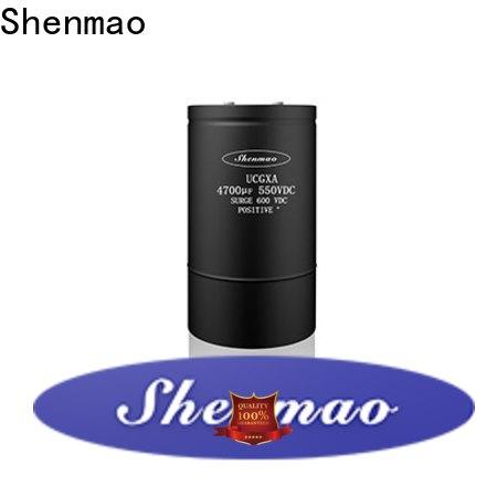 Shenmao Screw Terminal Aluminum Electrolytic Capacitor owner for rectification
