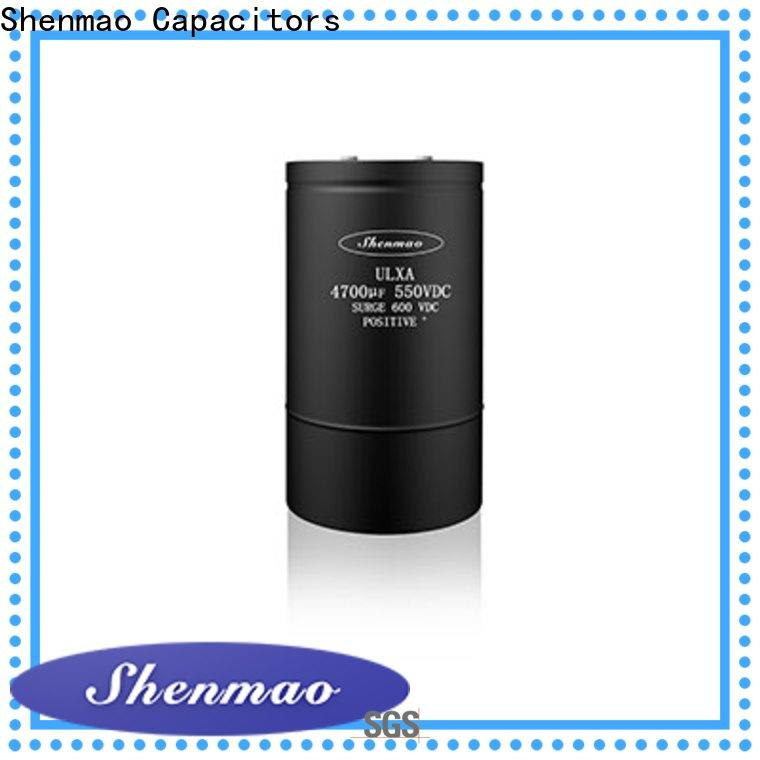 Shenmao high quality 22uf electrolytic capacitor owner for timing