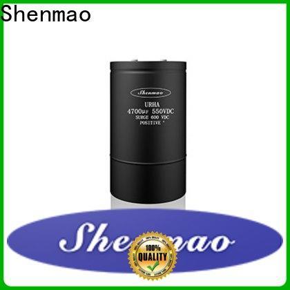 Shenmao energy-saving low esr electrolytic capacitors marketing for timing