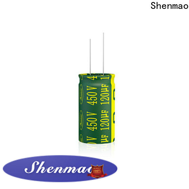 Shenmao high quality what is electrolytic capacitor marketing for DC blocking