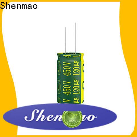 Shenmao radial capacitors marketing for temperature compensation