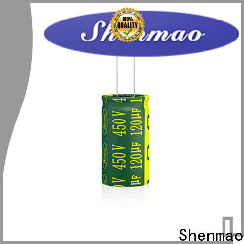Shenmao high quality electrolytic capacitors vendor for rectification