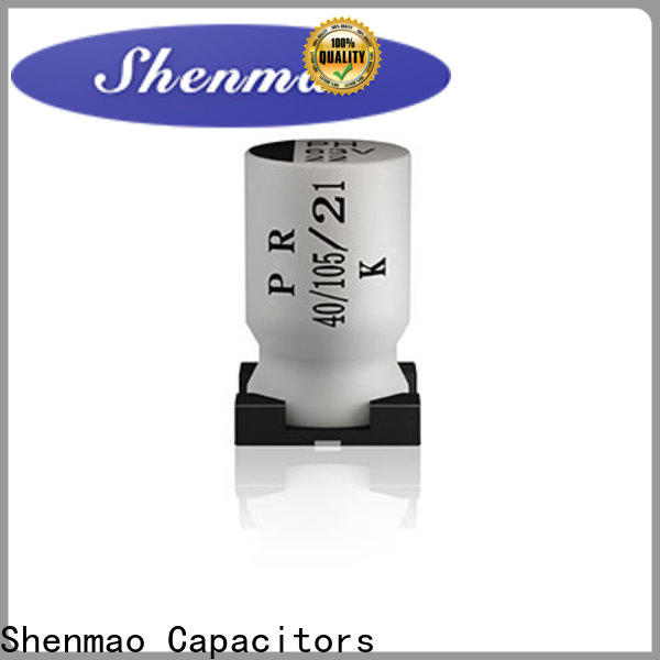Shenmao good to use 10uf smd electrolytic capacitor bulk production for timing