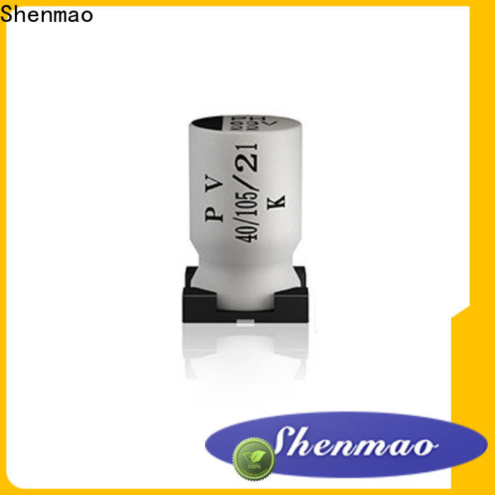 Shenmao 220uf smd capacitor vendor for energy storage