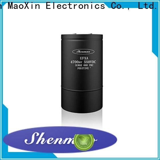 advanced technology low esr aluminum electrolytic capacitors bulk production for filter