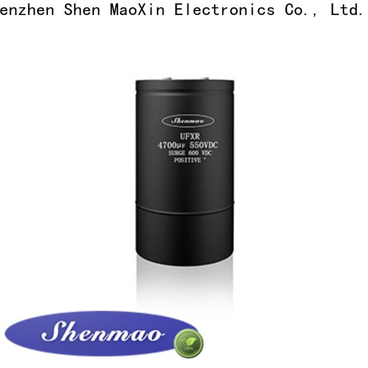 Shenmao high quality low esr aluminum electrolytic capacitors oem service for coupling