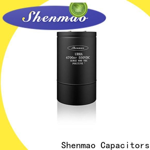 Shenmao professional 10uf 16v electrolytic capacitor bulk production for energy storage