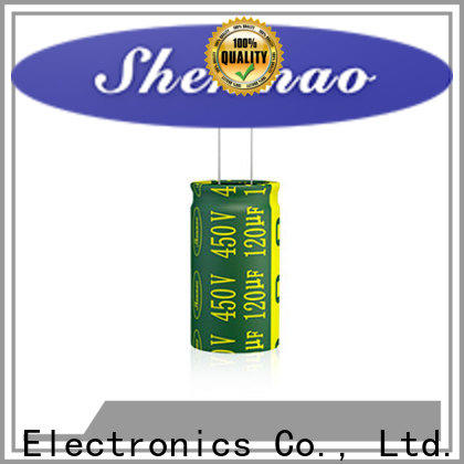 Shenmao satety radial capacitor supplier for rectification