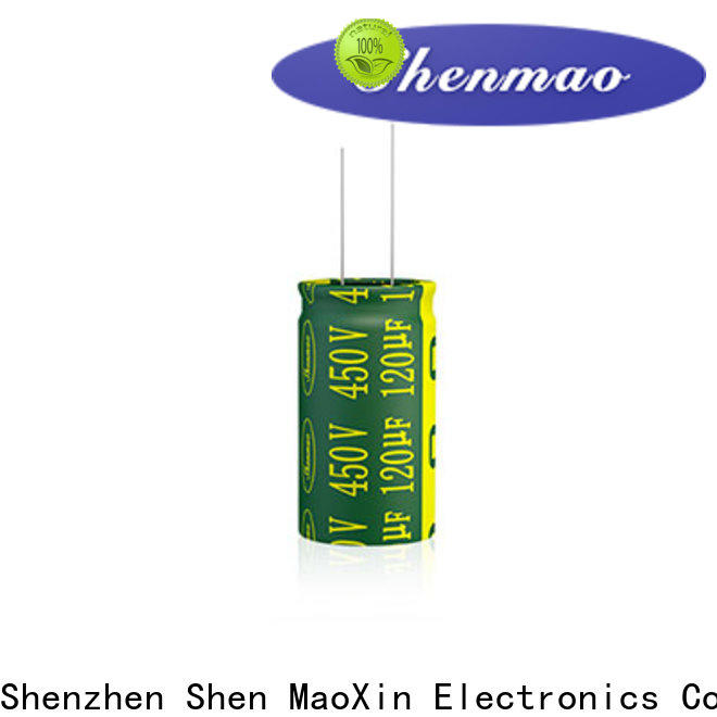 Shenmao best electrolytic capacitors for audio overseas market for timing