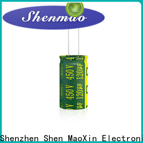 Shenmao electrolytic capacitor 100uf supplier for coupling