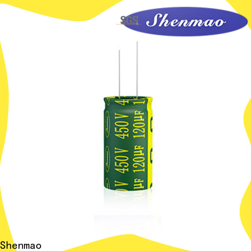 high quality 10uf 450v radial electrolytic capacitor supplier for DC blocking