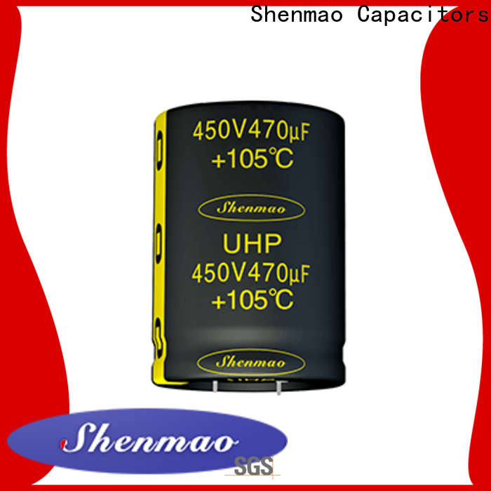 Shenmao fine quality snap in capacitor socket bulk production for tuning