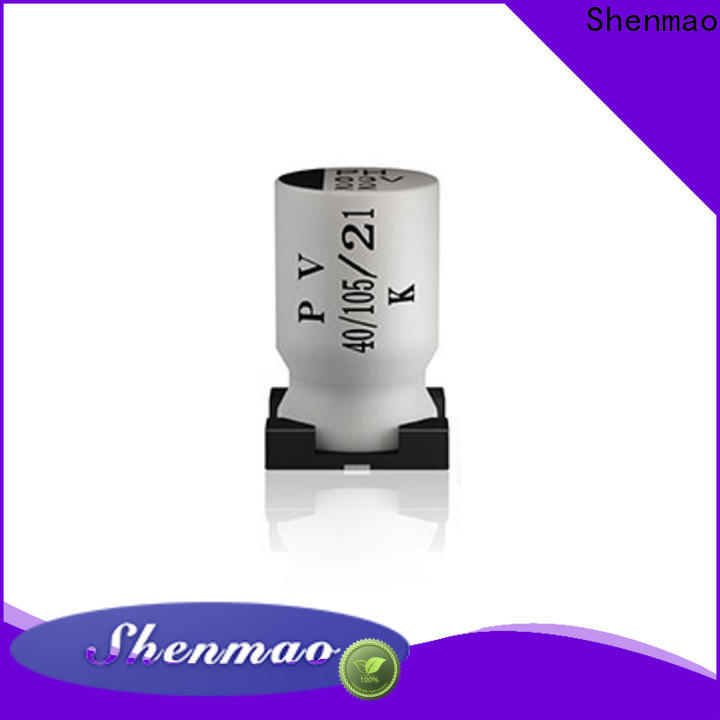 stable smd electrolytic capacitor supplier for rectification