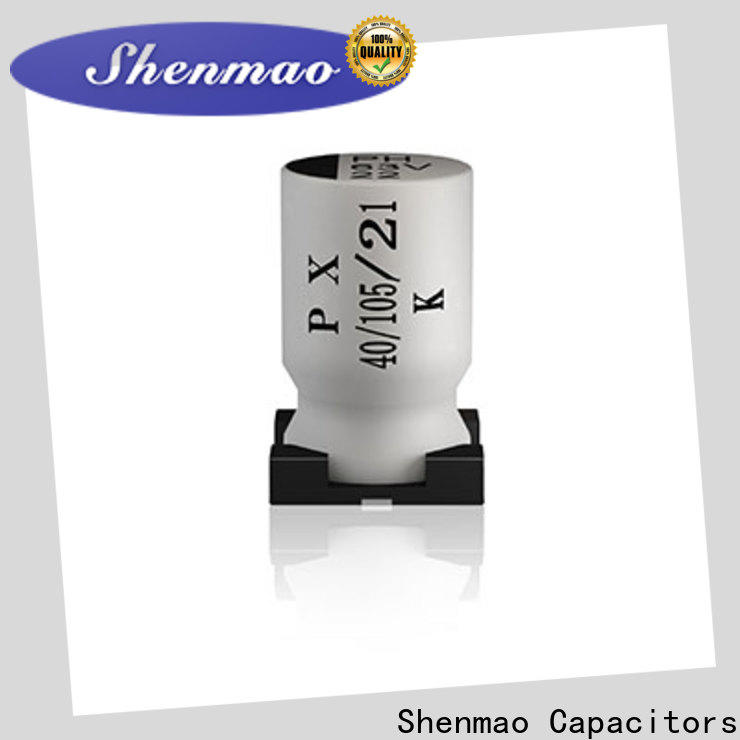 Shenmao competitive price 1000uf smd capacitor overseas market for timing