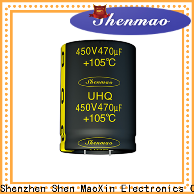 Shenmao snap in capacitor mount owner for DC blocking