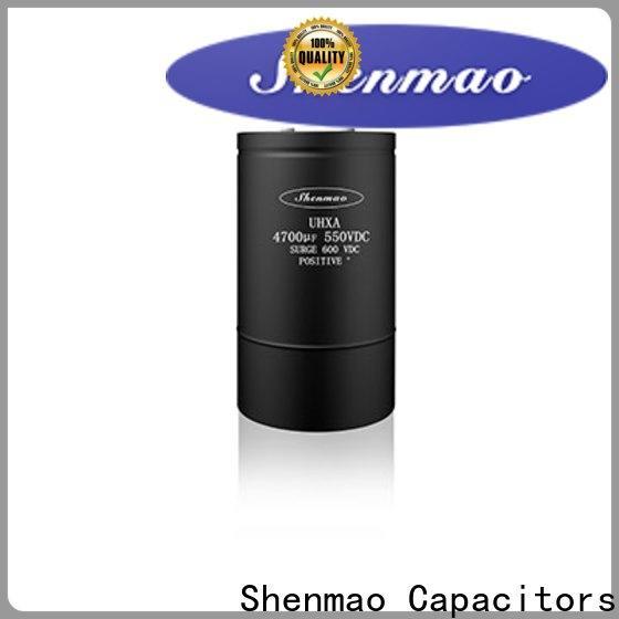 Shenmao energy-saving panasonic aluminum electrolytic capacitors oem service for timing