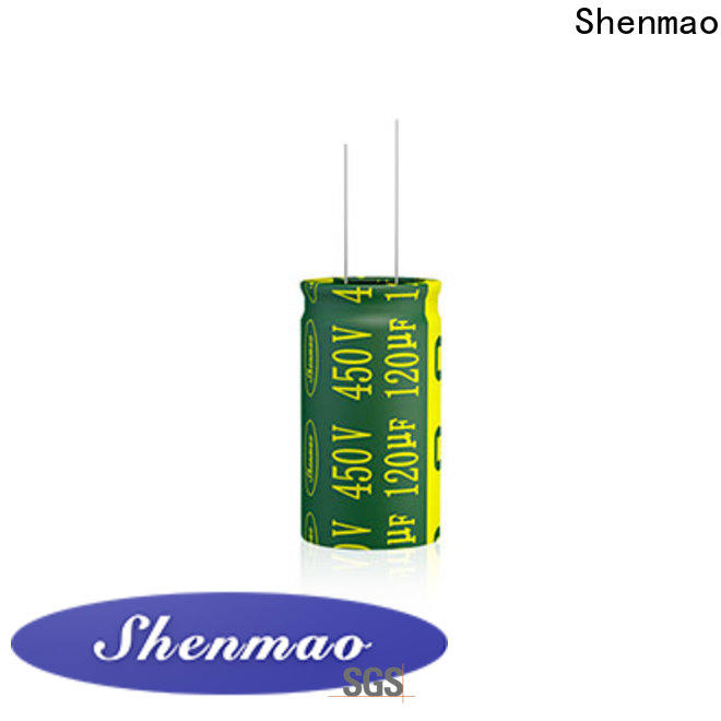 Shenmao radial lead capacitor overseas market for rectification