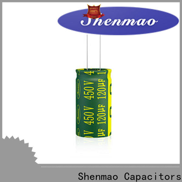 Shenmao radial can capacitor owner for energy storage