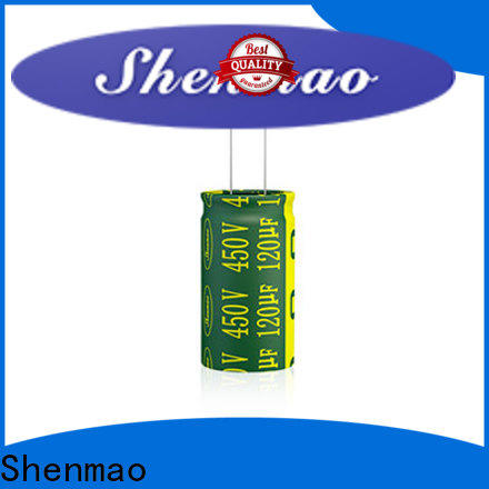 Shenmao 47uf electrolytic capacitor marketing for timing