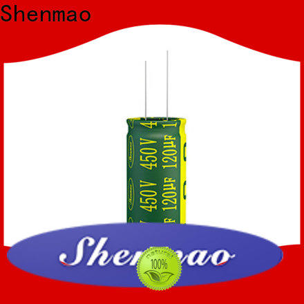 Shenmao radial capacitors vendor for energy storage
