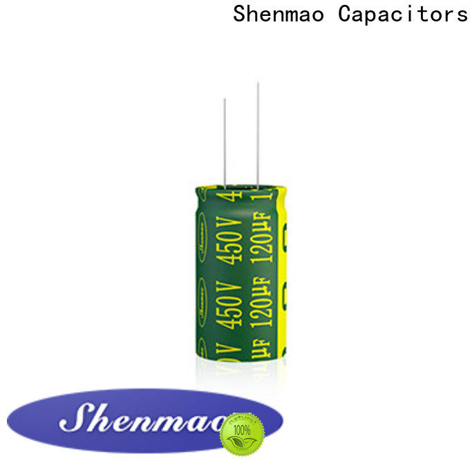 Shenmao aluminum electrolytic capacitor vendor for tuning