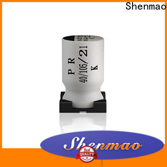 Shenmao smd electrolytic capacitor sizes supplier for energy storage