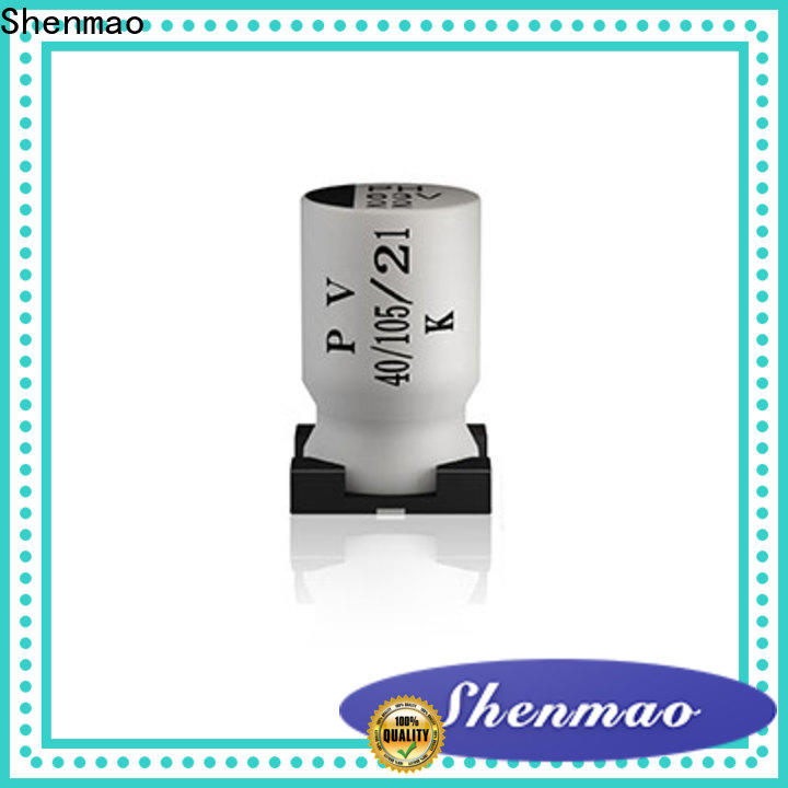 Shenmao professional smd capacitor manufacturers supplier for filter