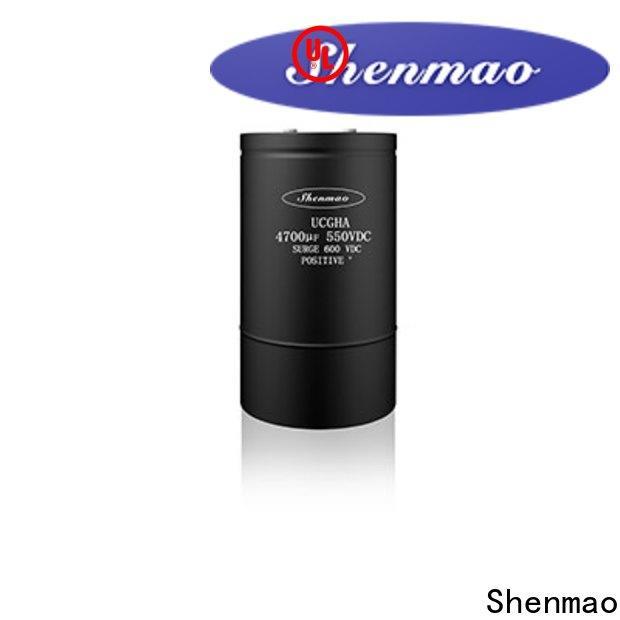 Shenmao 600v electrolytic capacitors vendor for temperature compensation