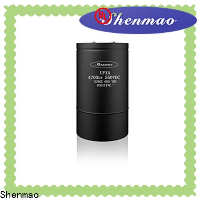 Shenmao high voltage electrolytic capacitors for sale bulk production for tuning