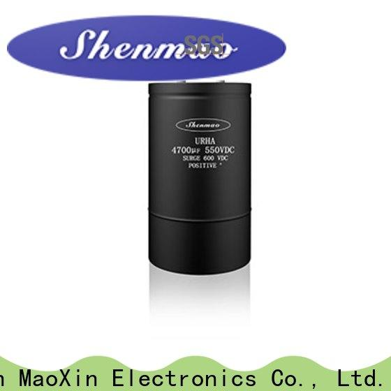 Shenmao screw terminal capacitor oem service for tuning