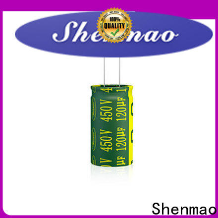 Shenmao price-favorable aluminum capacitor bulk production for rectification