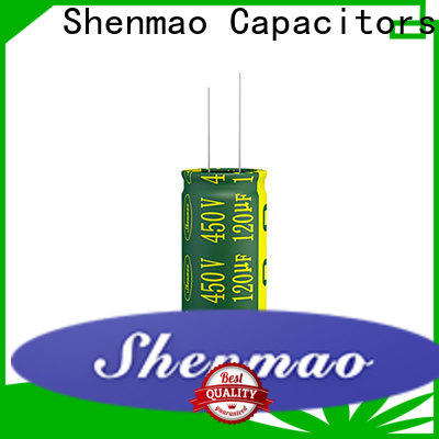 Shenmao price-favorable radial can capacitor marketing for rectification