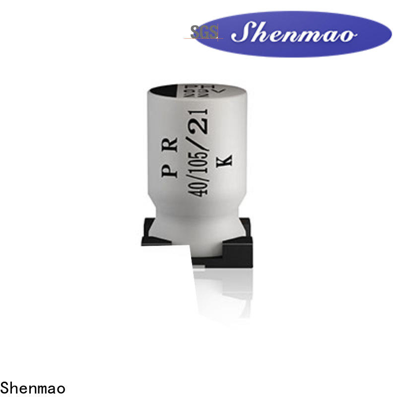 Shenmao 22uf smd capacitor vendor for filter