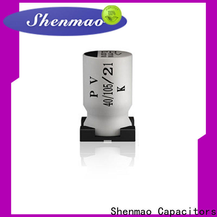 competitive price panasonic smd aluminum electrolytic capacitors vendor for coupling